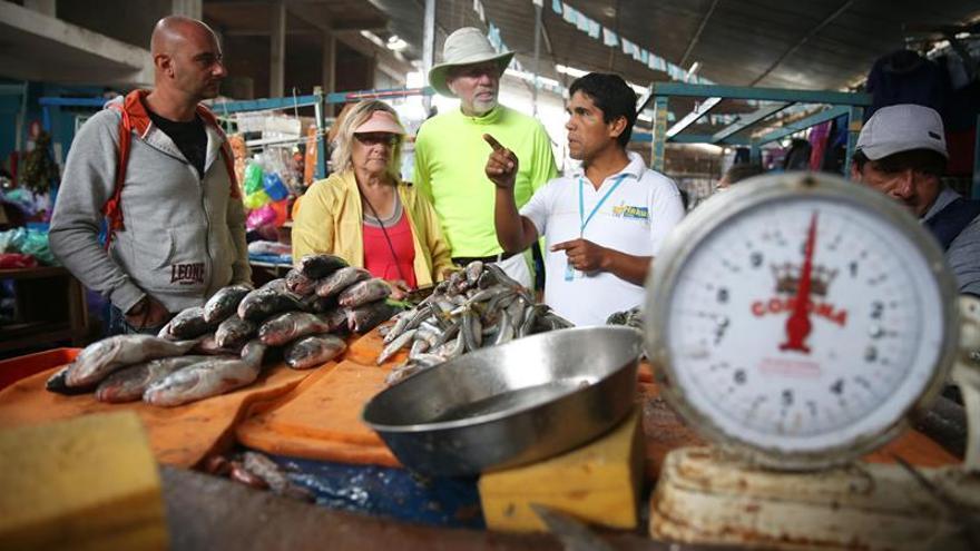 La economía de Perú crece un 4,88 % en mayo y acumula 82 meses de expansión continua