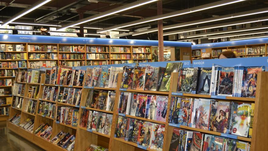 La librería Gigamesh tiene 500 metros cuadrados dedicados a la literatura de fantasía y ciencia ficción