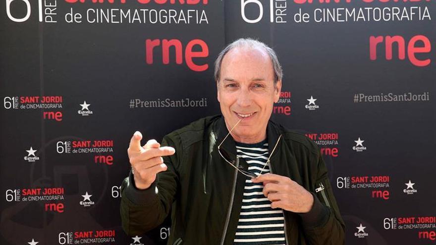 Eusebio Poncela agradece el Premio Sant Jordi a su trayectoria profesional