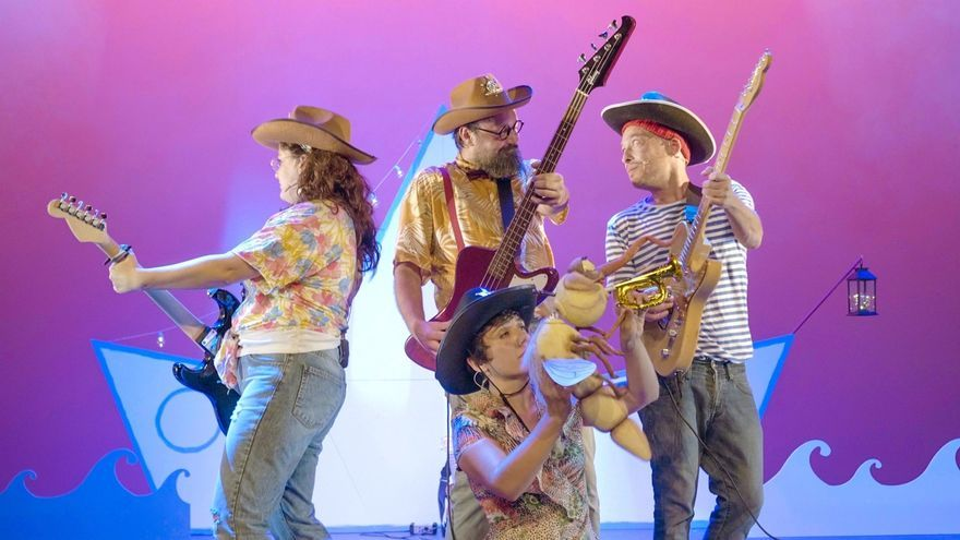 El Centro Botín acoge en exclusiva el estreno para Cantabria de 'Mi isla' de La Chica Charcos & The Katiuskas Band