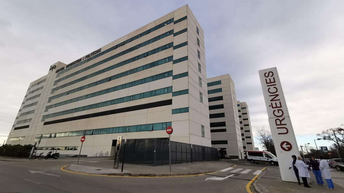 El hospital La Fe de València.