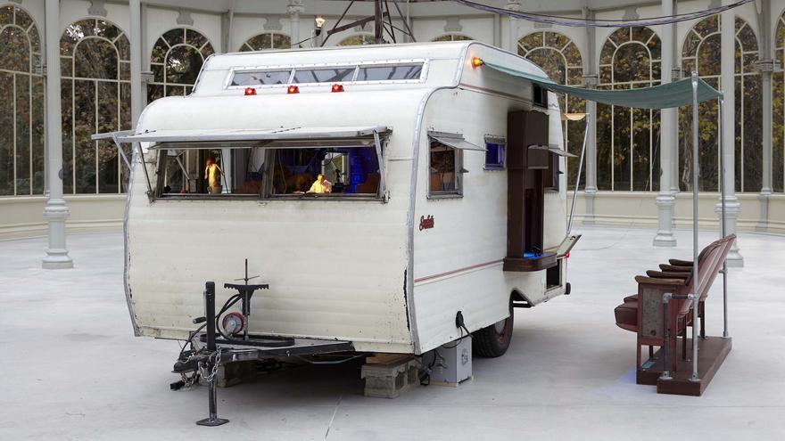 La caravana de muñecas de Janet Cardiff y Daniel Bures Miller en el Palacio de Cristal del Buen Retiro
