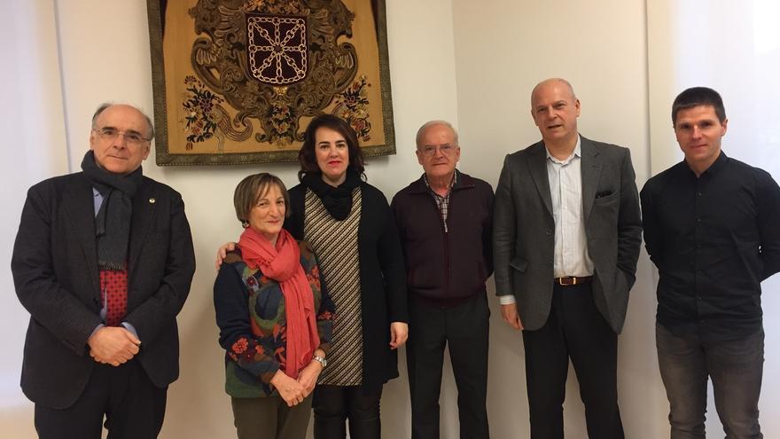 El Parlamento de Navarra continuará su colaboración con Euskaltzaindia