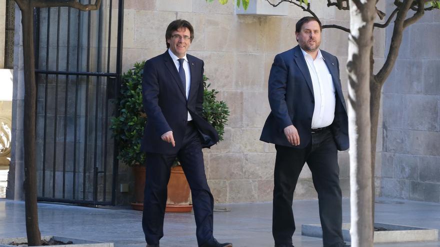 "Puigdemont afirma que el TC pone una ""autopista"" a Cataluña para independizarse"