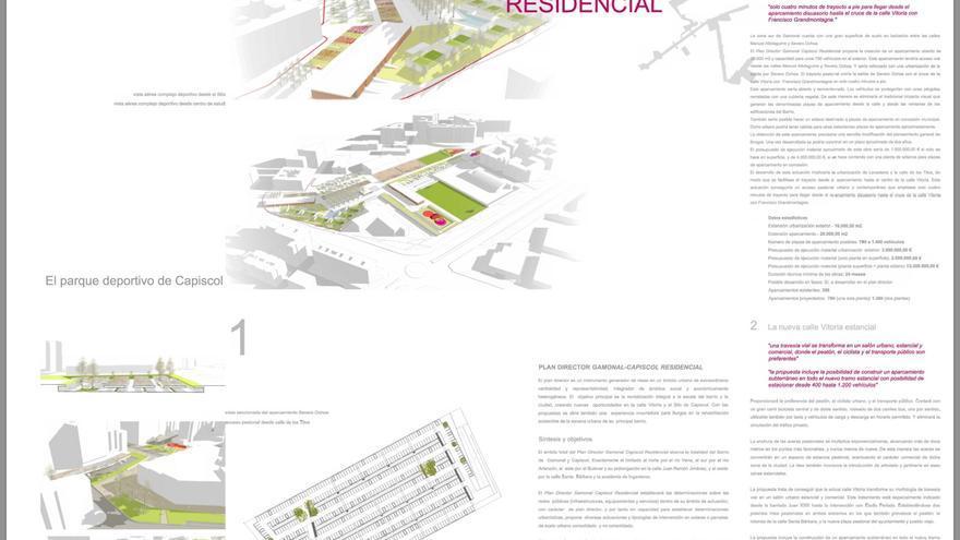 El proyecto de Méndez Pozo para reformar los barrios de Gamonal y Capiscol, en Burgos.