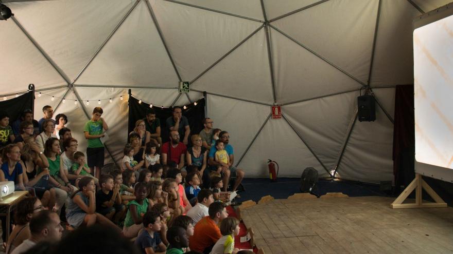 Sesión de Carambola en el pasado festival Imaginaria de Binéfar.