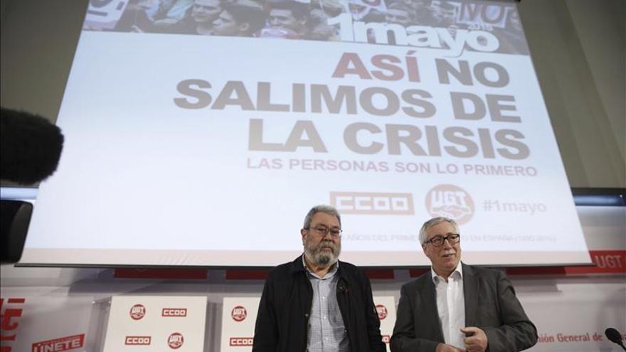 Movilizaciones el 1 de mayo en 80 ciudades contra las políticas de austeridad