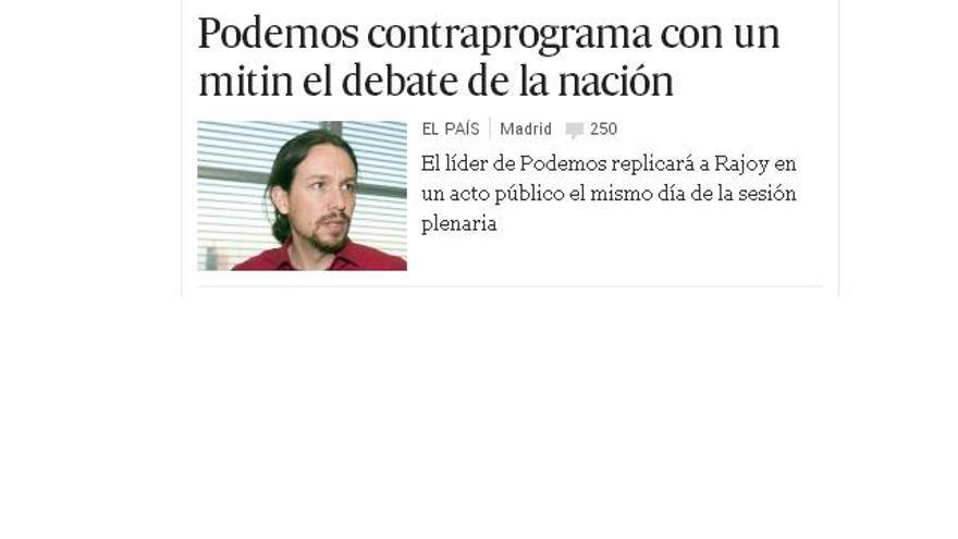 Información aparecida en 'El País' el 22 de febrero.