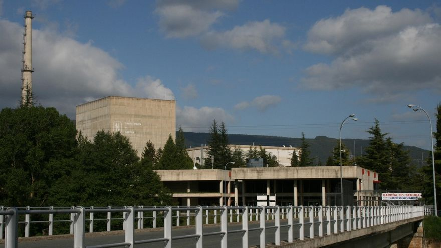 La central nuclear de Santa María de Garoña, en Burgos.