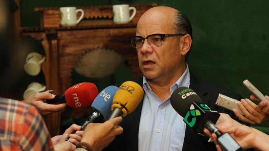 El secretario general de Coalición Canaria (CC), José Miguel Barragán.