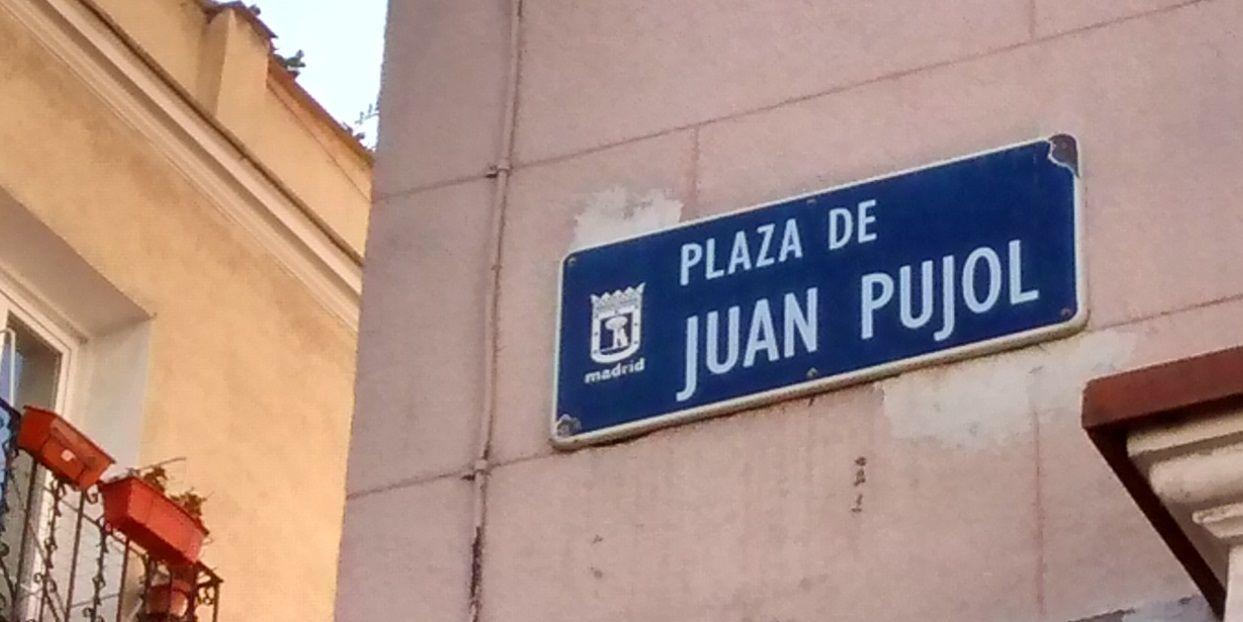 Cartel identificativo en la plaza Juan Pujol | SOMOS MALASAÑA