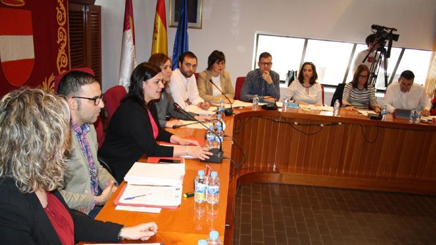 Pleno municipal en Puertollano