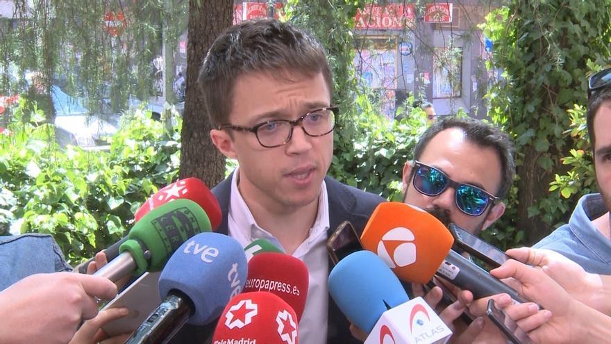 Errejón lamenta que Rivera haga perder un año a la Comunidad de Madrid y niega los cien días de gracia a Garrido