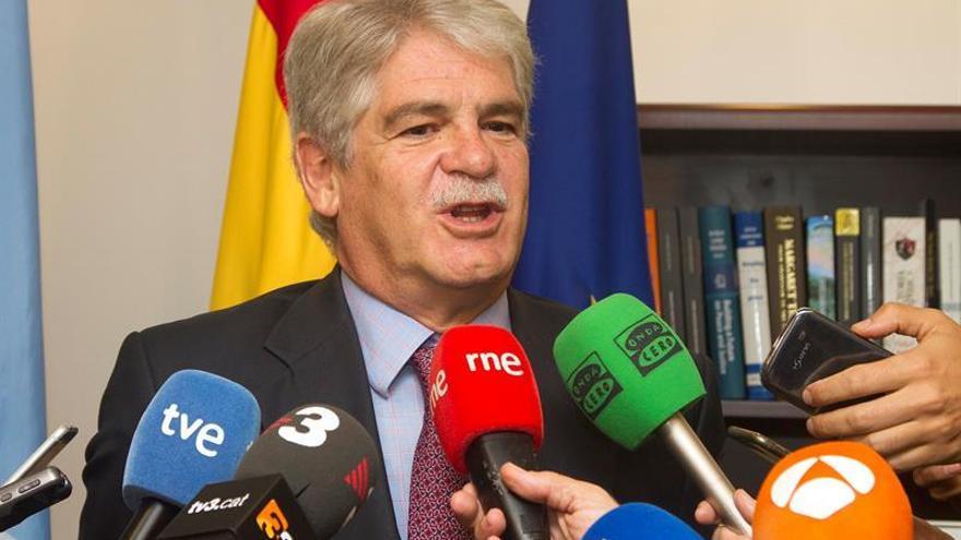 "España espera que EEUU traiga un mensaje ""constructivo"" sobre el papel de la ONU"