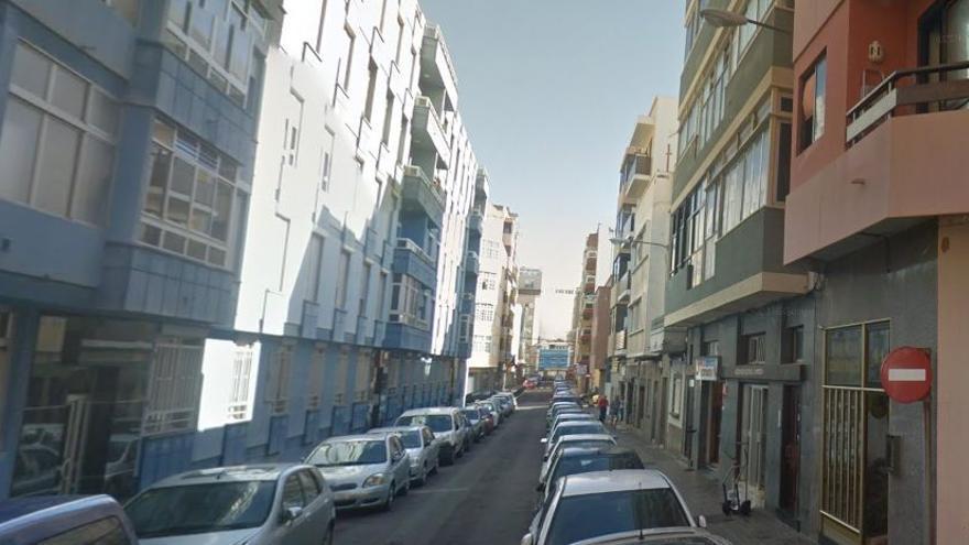Calle Colombia, en Las Palmas de Gran Canaria.