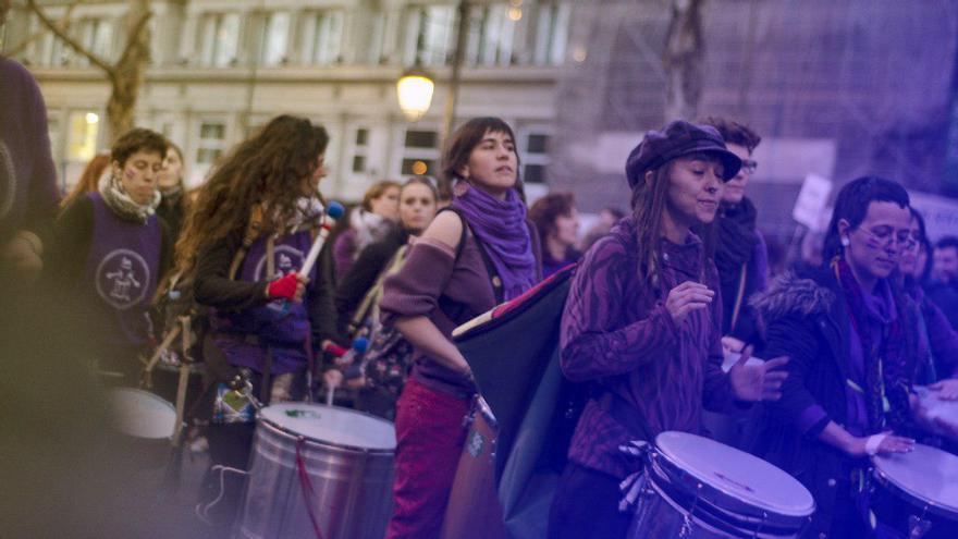 Manifestación del 8M \ Foto: Alejandro Navarro Bustamante