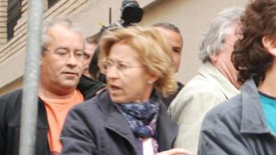 Celia Estalrich, viuda del alcalde de Fago