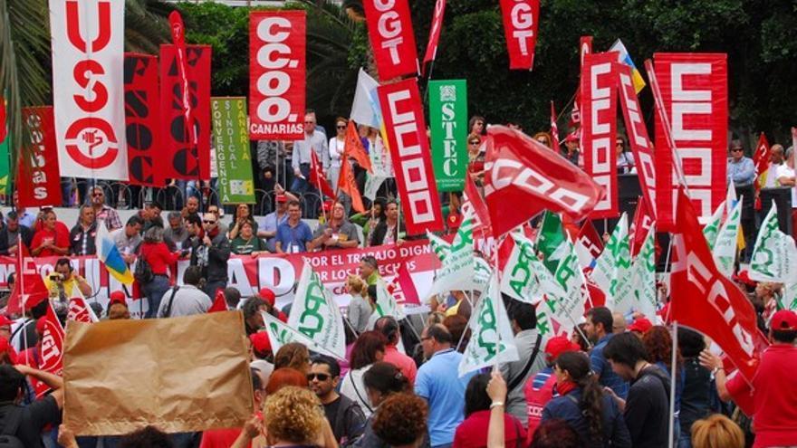 De la manifestación en LPGC #9