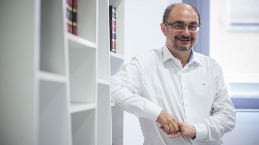 Javier Lambán. Foto: Juan Manzanara