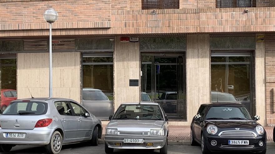 Oficinas de la empresa Stoa este viernes en Vitoria