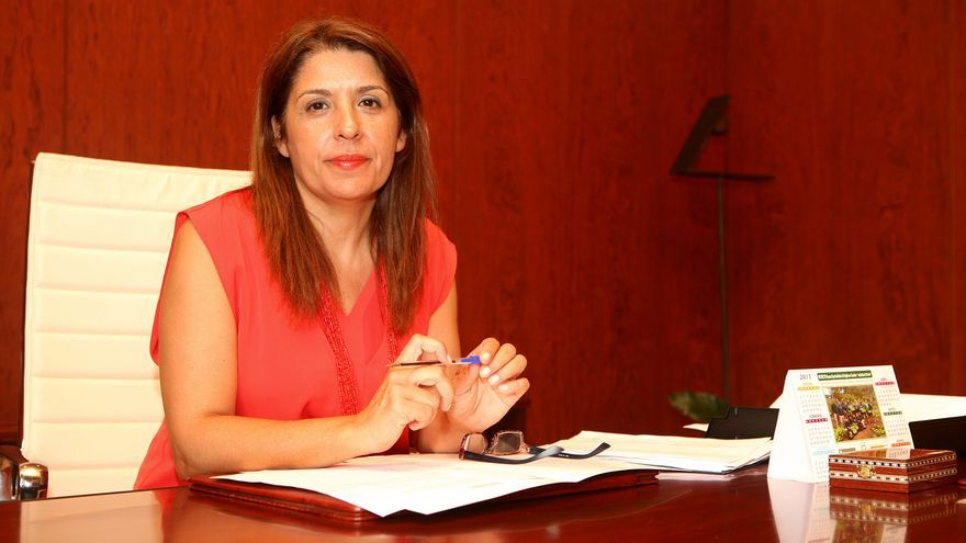 Carmen Hernández, alcaldesa de Telde (ALEJANDRO RAMOS)