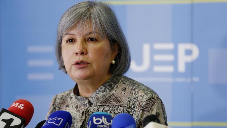 En la imagen, la presidenta de la Jurisdicción Especial para la Paz (JEP), Patricia Linares.