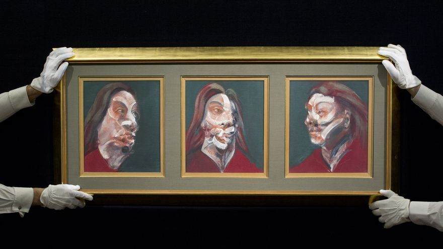 Francis Bacon's 'Three Studies of Isabel Rawsthorne'