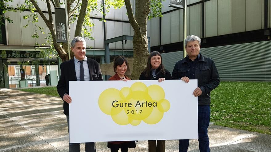 María Luisa Fernández, Sra. Polaroiska y Azala, Premios Gure Artea 2017