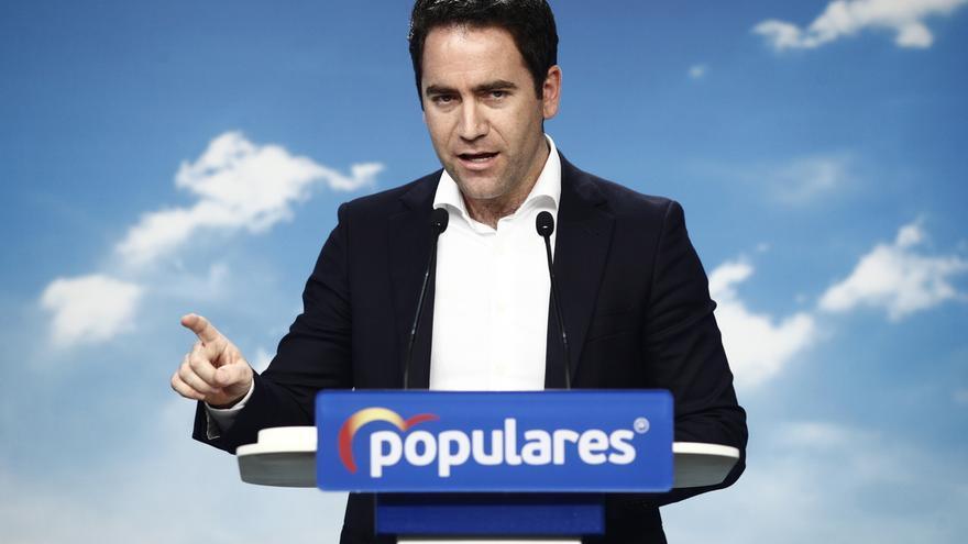 """García Egea recalca que el PP """"no puede abstenerse"""" en la investidura de Sánchez porque """"es la alternativa al PSOE"""""""