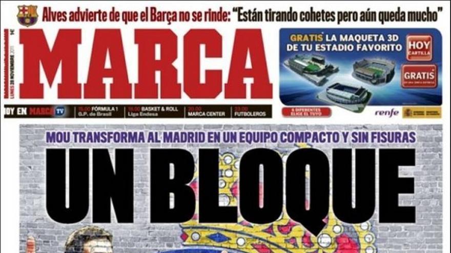 De las portadas del día (28/11/2011) #13