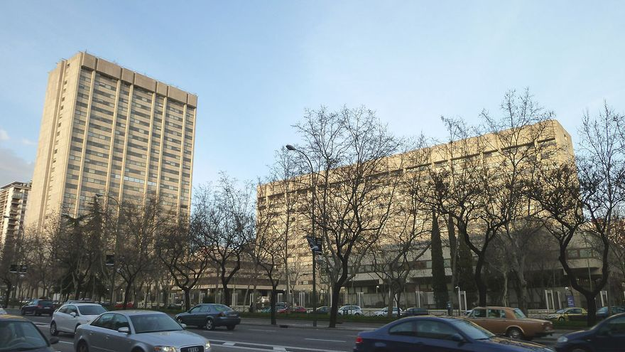 Sede del Ministerio de Industria. CC Luis García
