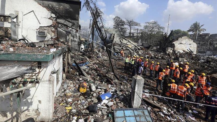 Al menos cuatro muertos y 100 heridos en explosión en fábrica farmacéutica en la India