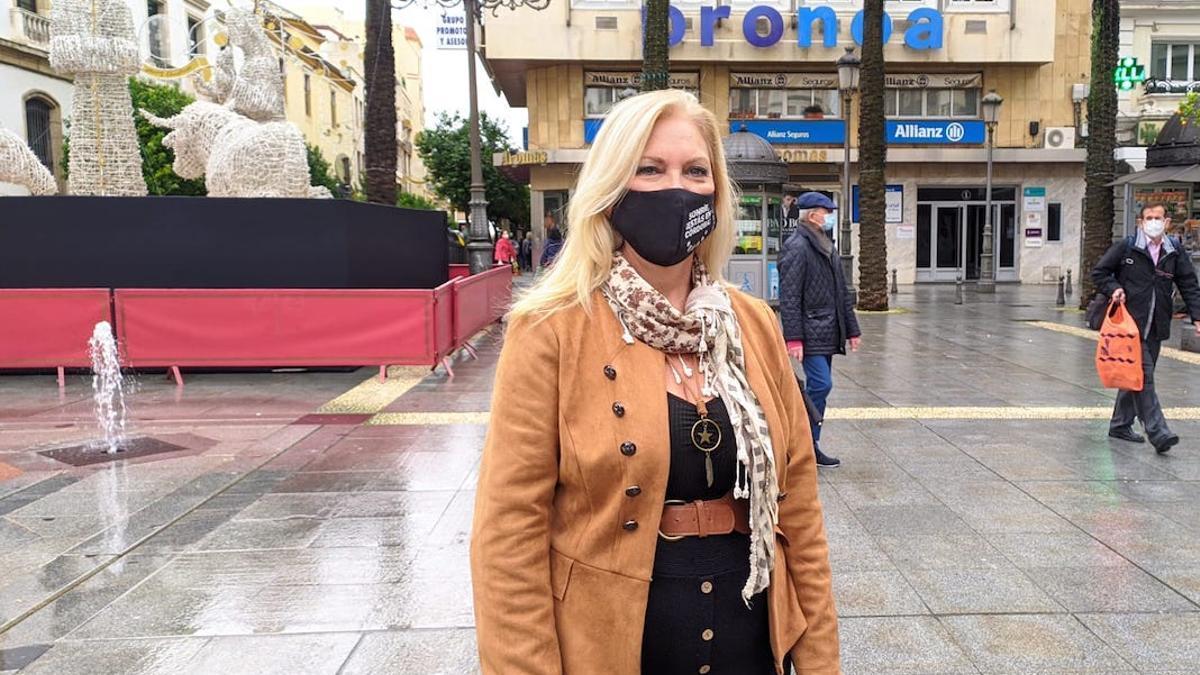 La portavoz de Podemos en el Ayuntamiento, Cristina Pedrajas.