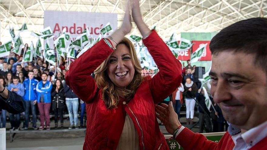 """Díaz dice que quiere que estén orgullosos de ella """"como presidenta,  lo demás me da igual"""""""