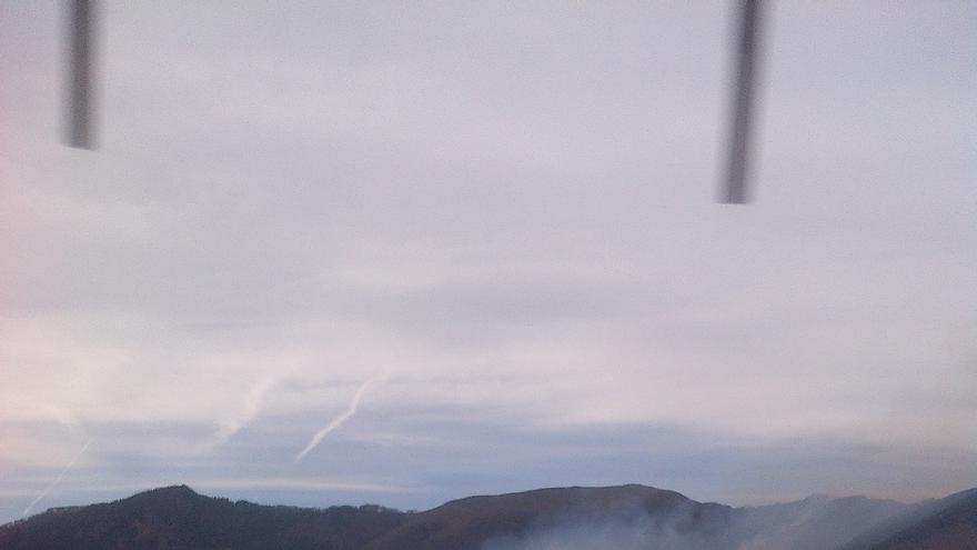 Prohibidas hasta el lunes las quemas de pastos por el elevado riesgo de incendio, sobre todo en la zona norte