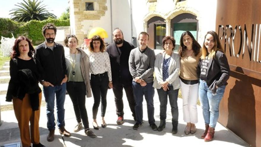 Premiados de la octava edición de 'Cultura emprende'.   FSC