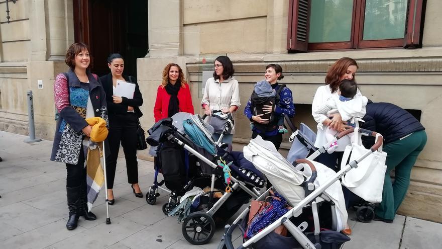 La juez desestima las reclamaciones para la devolución del IRPF por maternidad en Navarra