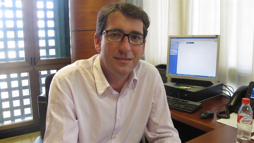 El portavoz del Grupo Parlamentario Socialista, Iñaki Lavandera. (Foto cedida a Europa Press).