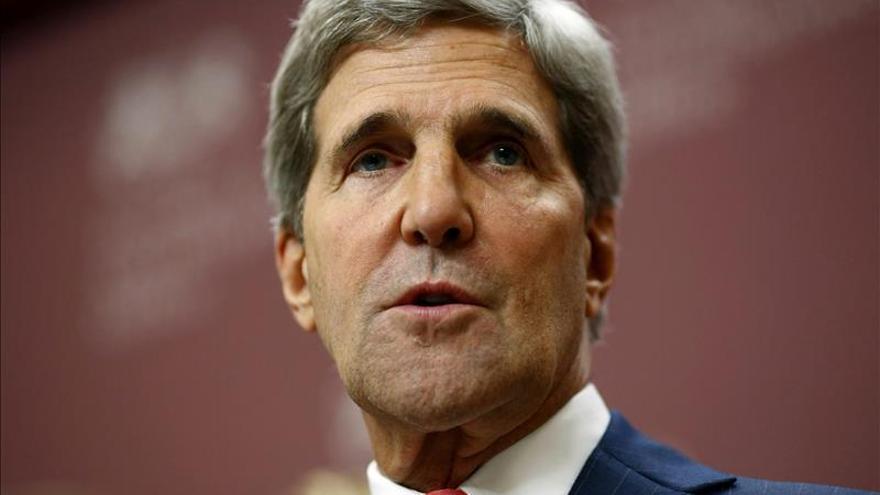 Kerry viajará a Europa para tratar del EI y la crisis de Ucrania