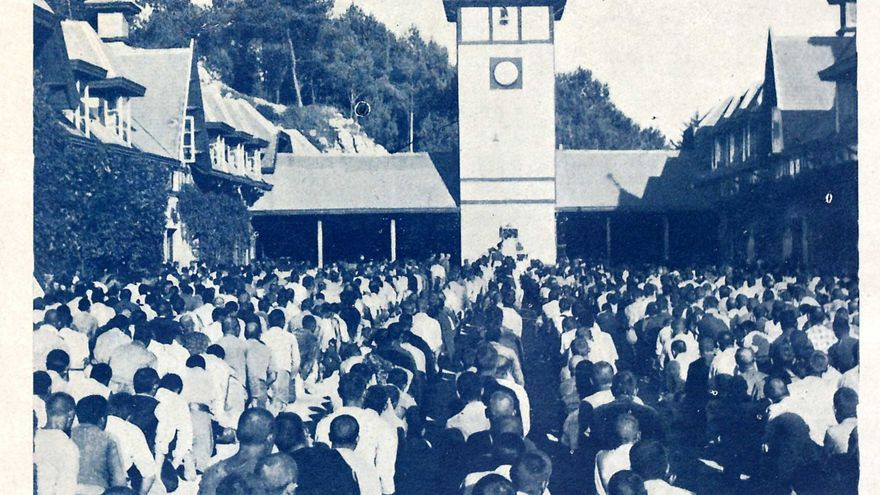 Campo de concentración franquista de La Magdalena, en Santander.   DESMEMORIADOS
