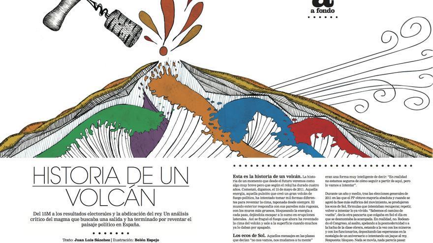 Reportaje de Juan Luis Sánchez en el número 6 de la revista Cuadernos de eldiario.es.