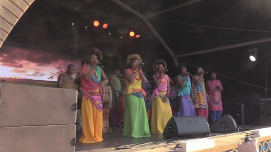Los ritmos africanos se roban el espectáculo en el Rock in Río