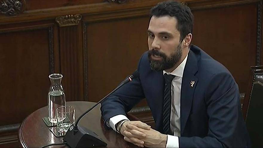 """Torrent a preguntas de Vox: """"No vamos a renunciar nunca a la voluntad mayoritaria en Cataluña, volveré a votar"""""""