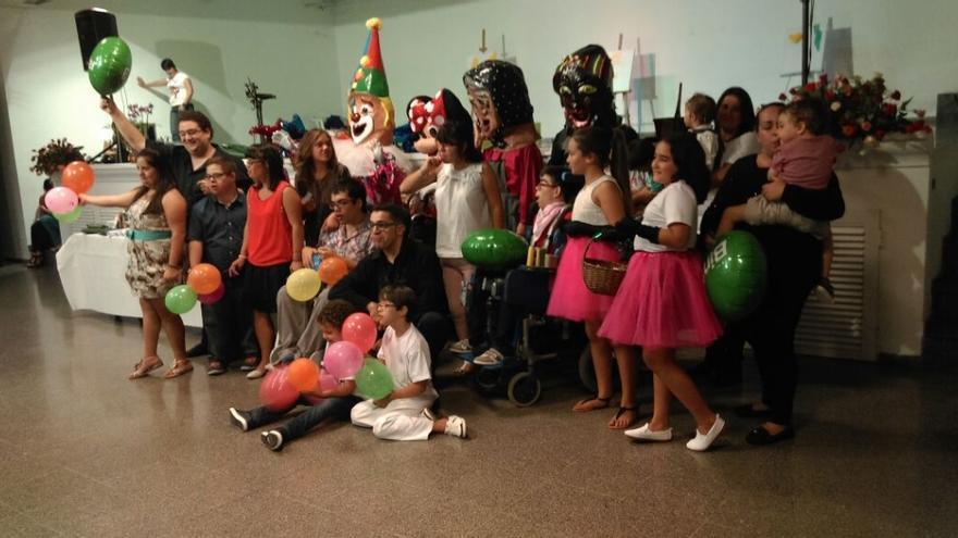 En la imagen, cena anual de la Asociación de Niños Especiales.