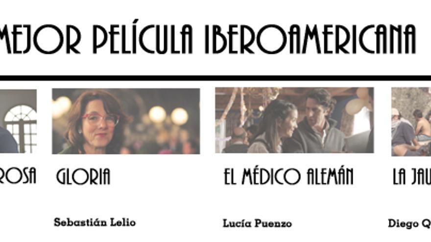 Nominadas a Mejor Película Iberoamericana