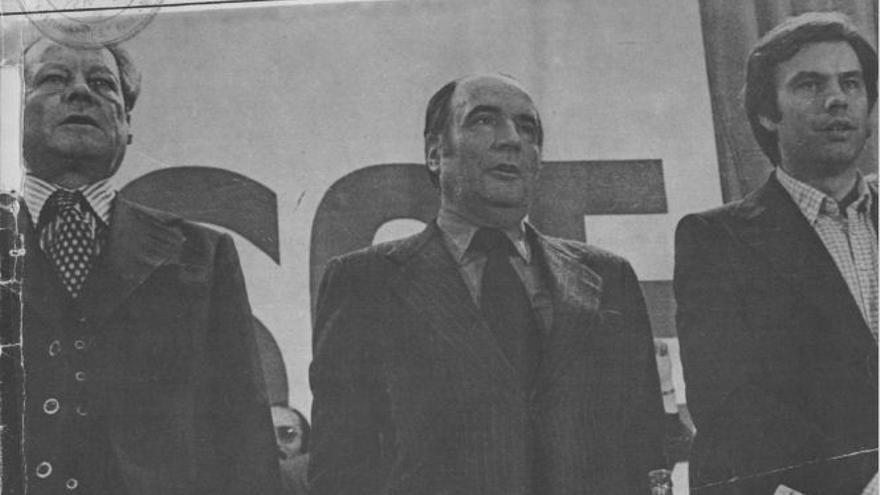 Willy Brandt, François Miterrand, Felipe González