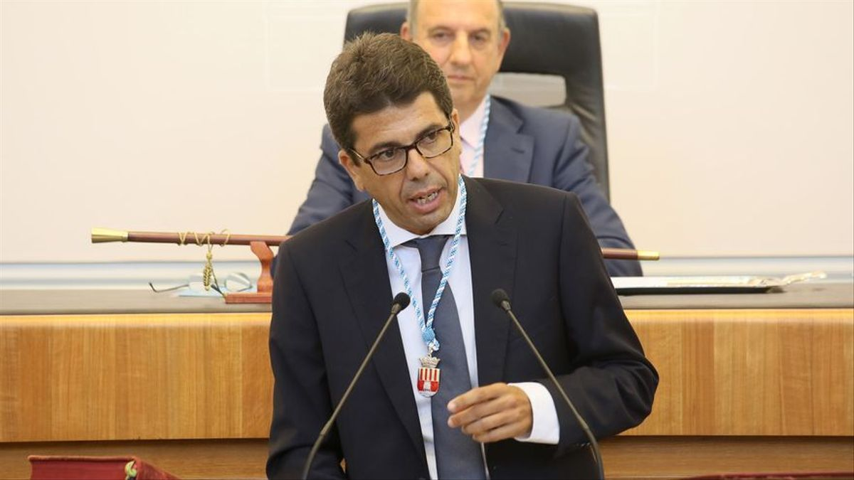 El popular Carlos Mazón, presidente de la Diputación de Alicante.