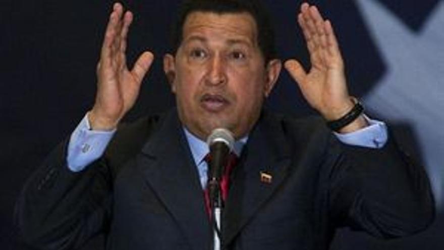 El mandatario venezolano, Hugo Chávez. (REUTERS)