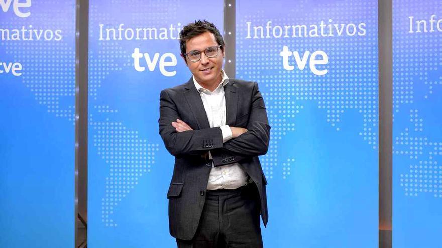 Sergio Martín, presentador de Los Desayunos de TVE