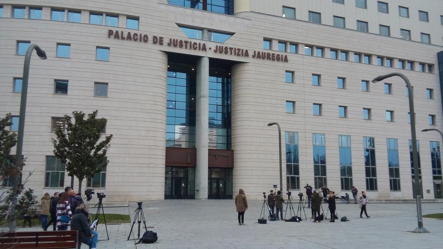 El Palacio de Justicia de Pamplona estrena un nuevo sistema de vídeo para los medios de comunicación